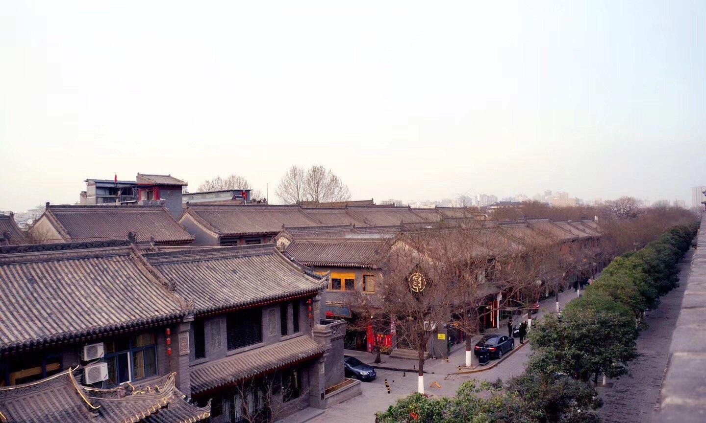 西安的古城楼,穿越唐朝,领略古城墙之美
