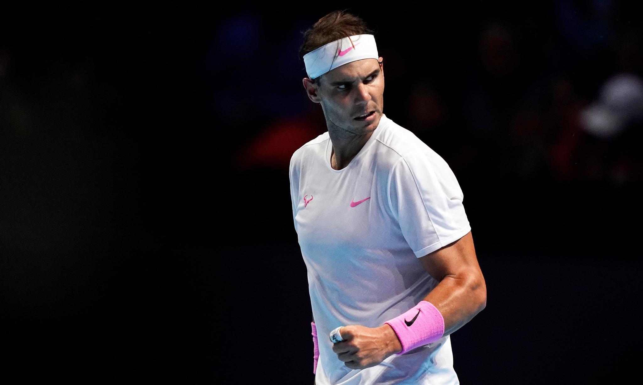 网球——ATP年终总决赛:纳达尔胜梅德韦杰夫(4)