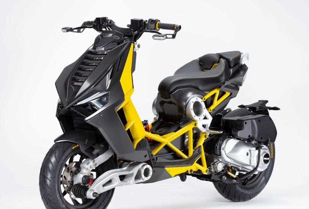 超级踏板摩托 Italjet Dragster将在五月亮相,单缸动力设计梦幻