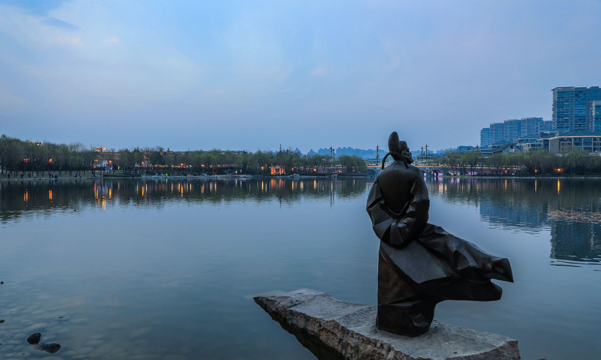 曲江渔火对愁眠,曲江池遗公园打卡