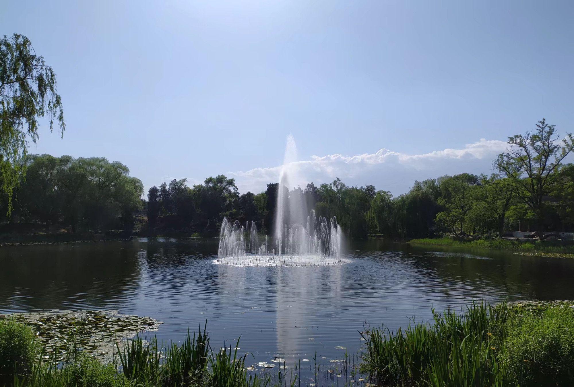 清代皇家园林、万园之园——圆明园