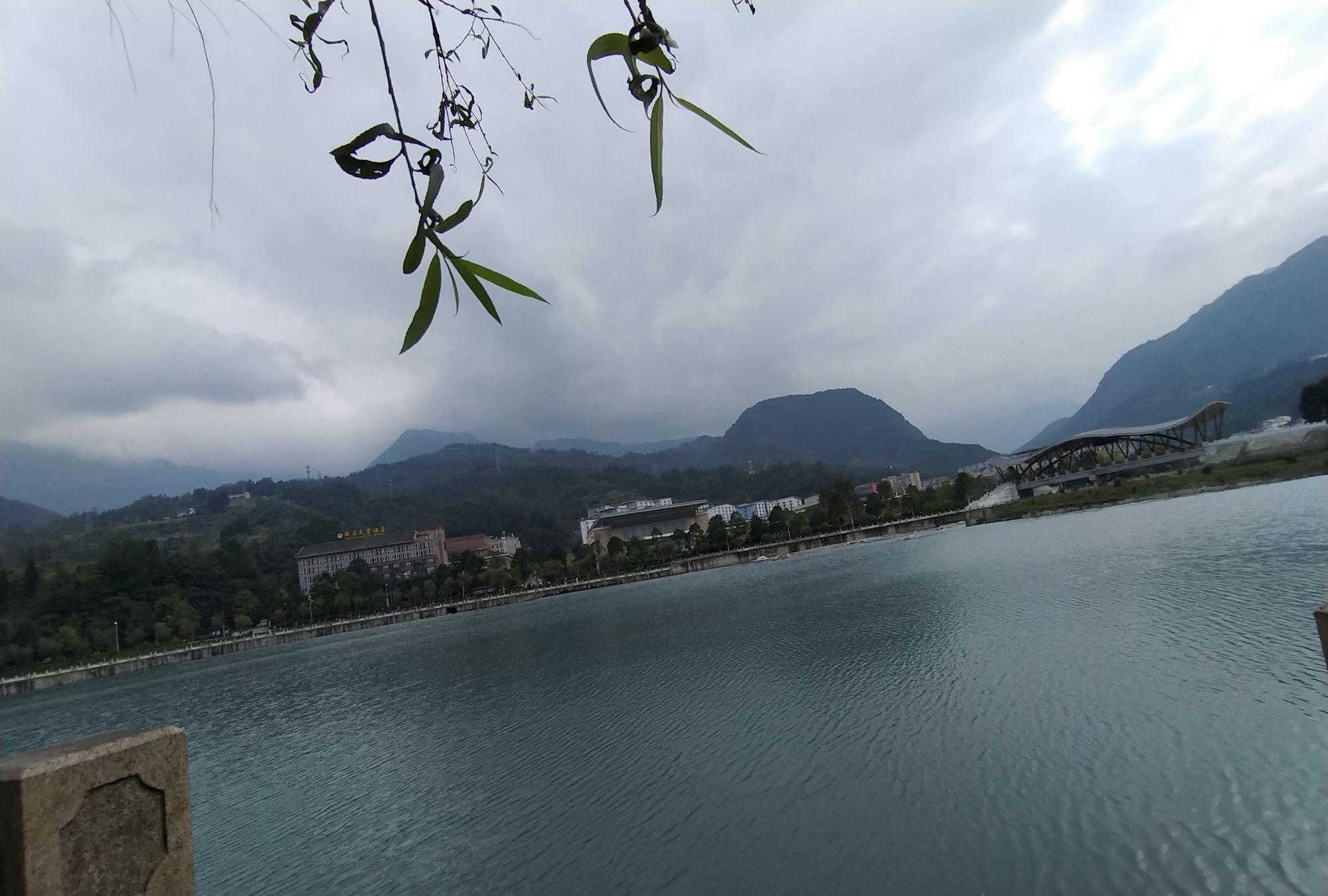 水磨古镇旅游全景图