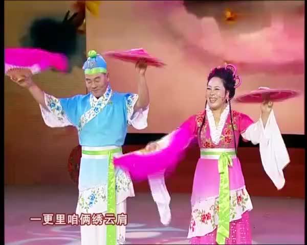 二人转民间老艺人表演《绣云肩》,纯粹来自田间地头的艺术!