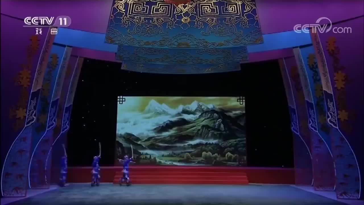 京剧《虎牢关》经典选段小戏骨刘凯唱的真好掌声不断