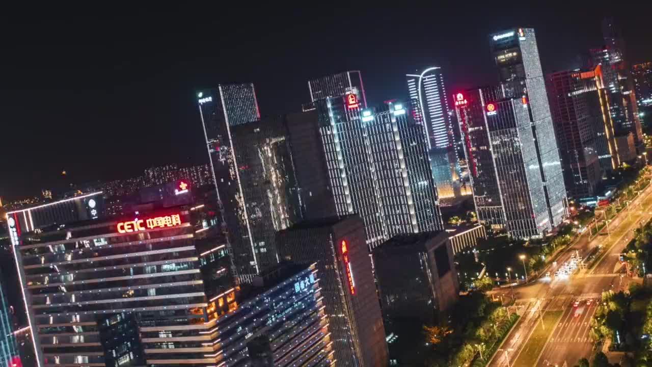 不用羡慕北上广深灯火通明的河西充满机遇挑战加油南京未来可期城