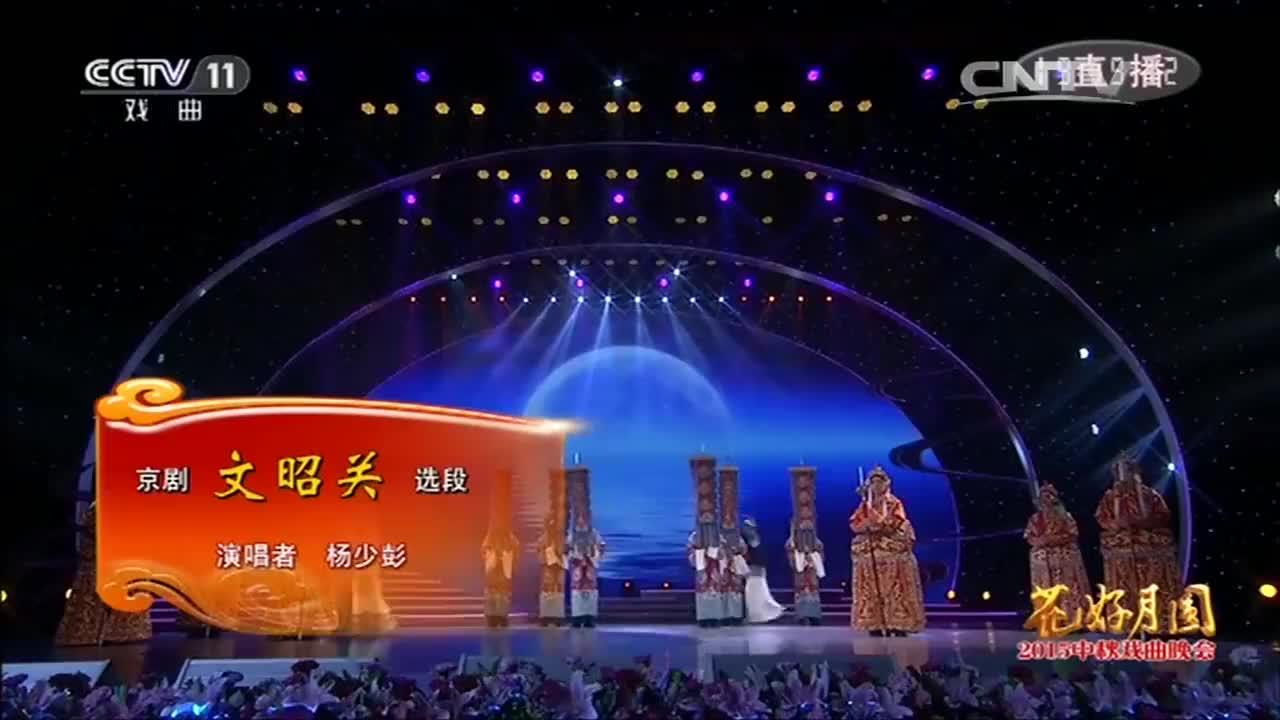 杨少彭演唱京剧《文昭关》经典选段,精彩的舞台演唱,不愧是名家