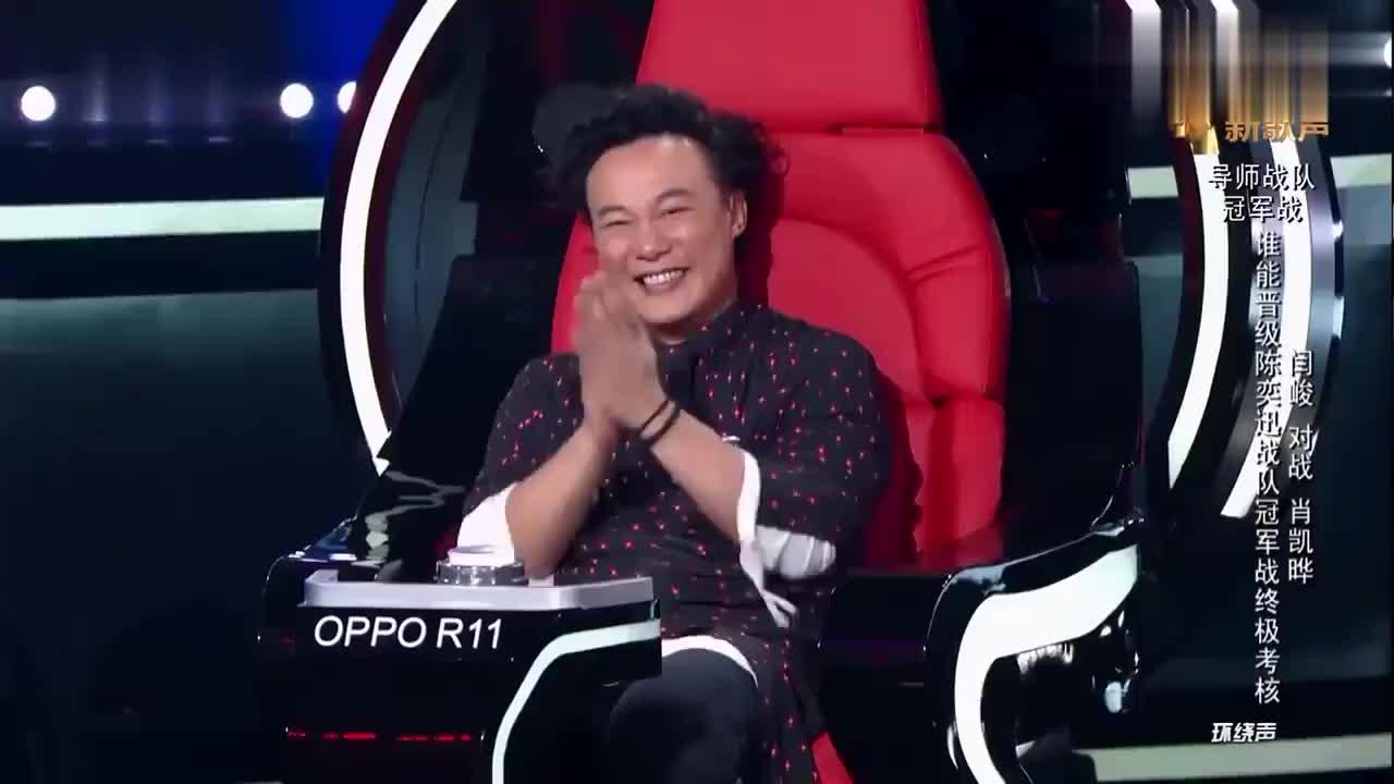 中国新歌声:评委们各有所爱,这次陈奕迅请的助唱都很厉害哦