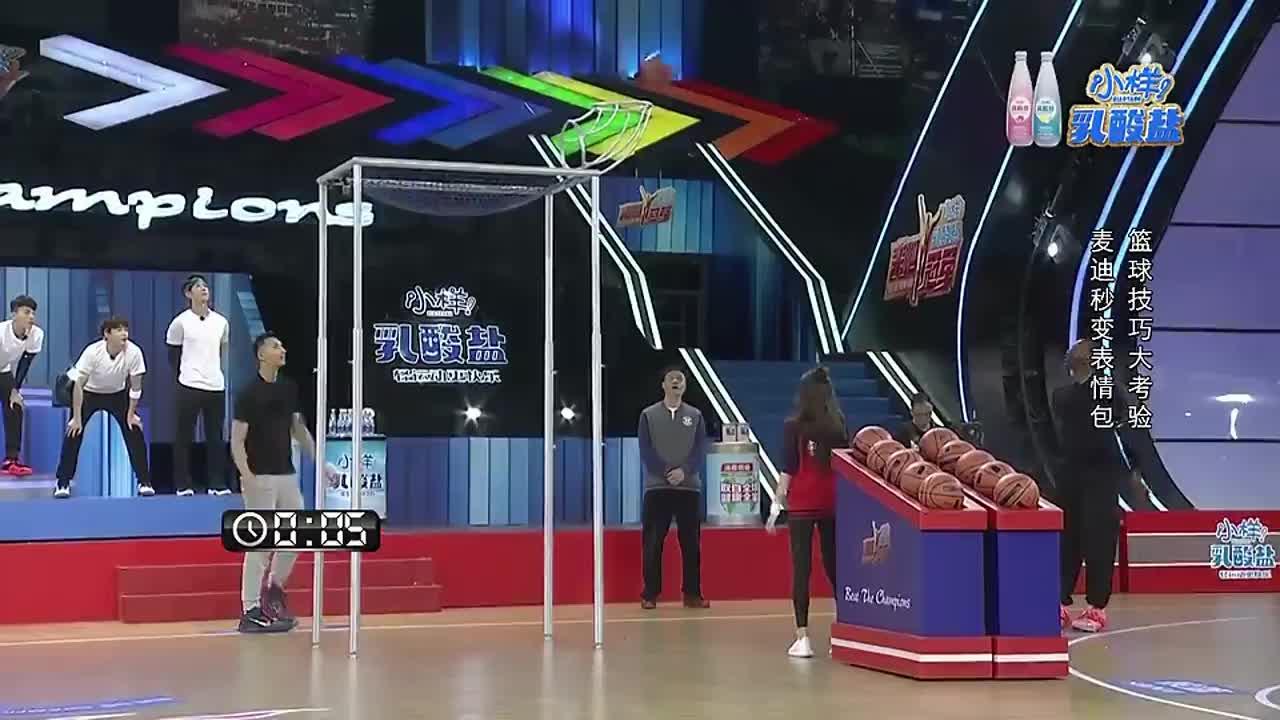 赛场下的明星好萌啊,篮球冠军易建联竟不会跳绳