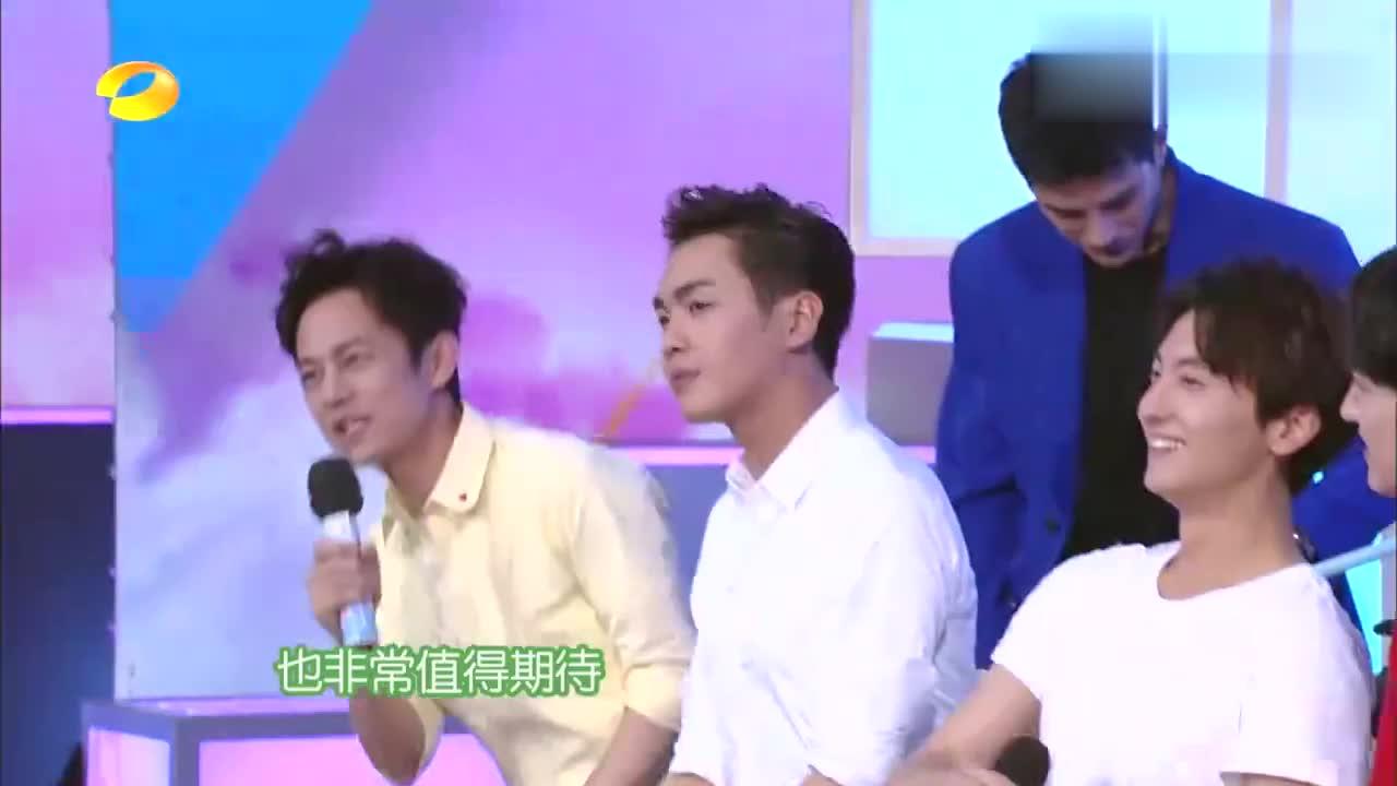 快本:姜潮跳热舞忧郁范儿,侯明昊帅气,一看海涛骚气的不得了!