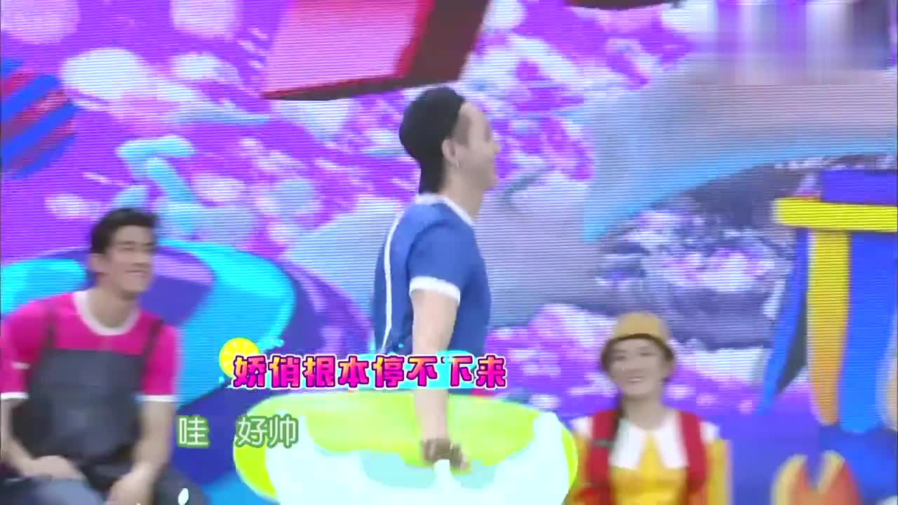 快本:张继科裹被子出场,一脸娇羞,何炅谢娜:刘教练让你醒醒!