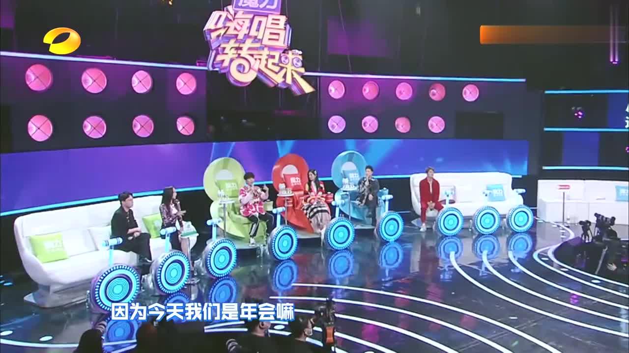 谢娜联手韩雪再演绎,刘敏涛《红色高跟鞋》,大张伟快被笑翻了!