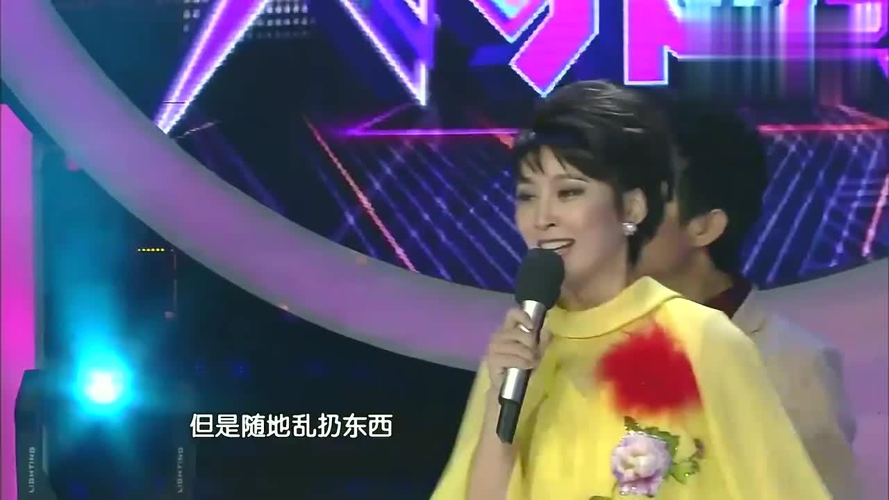 一秒变80年代港姐,吴京真是好眼光!