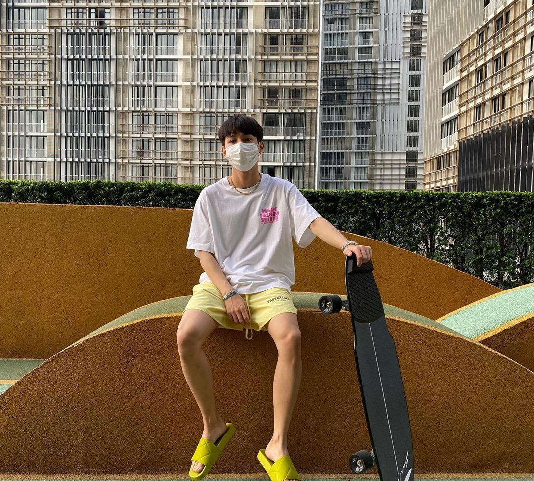泰国美少年GunAtthaphan:单身少年清冷穿搭合集