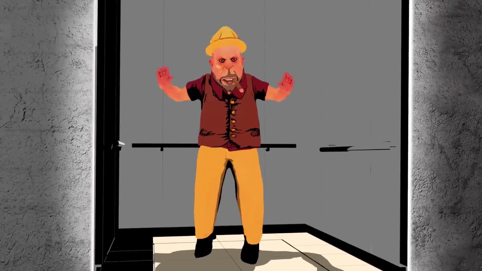 电梯坠落时,快要触底时跳起来真能救命?动画演示全程真涨知识了
