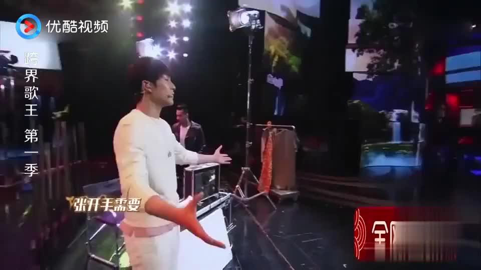跨界歌王:韩东君激情献唱《我们不一样》,吴秀波听得眼眶红了!