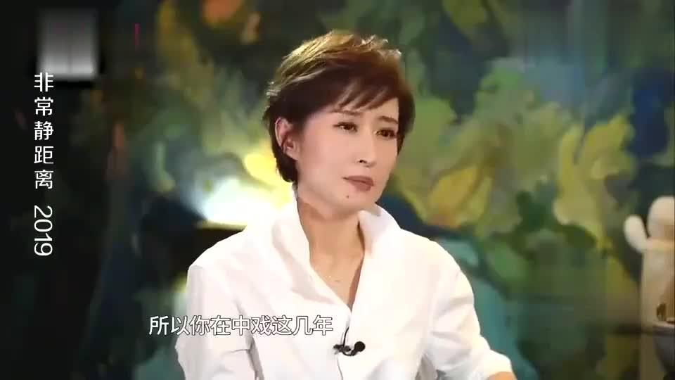 刘敏涛在中戏成绩优异,但因为外表,总不被导演和副导演选中