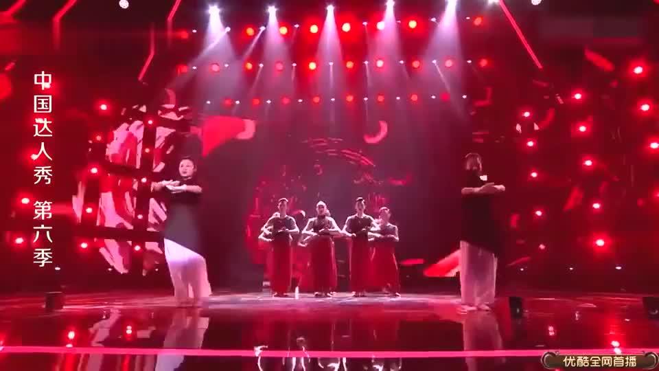 中国达人秀:聋哑人舞蹈超精彩,震撼人心,看得沈腾杨幂热泪盈眶