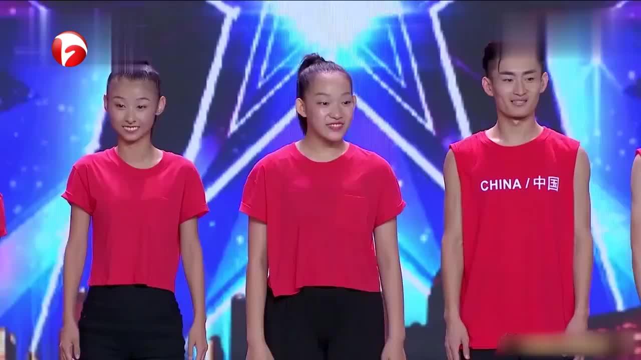 中国达人秀:聋哑人跳舞气势十足!金星属实被惊艳了一把