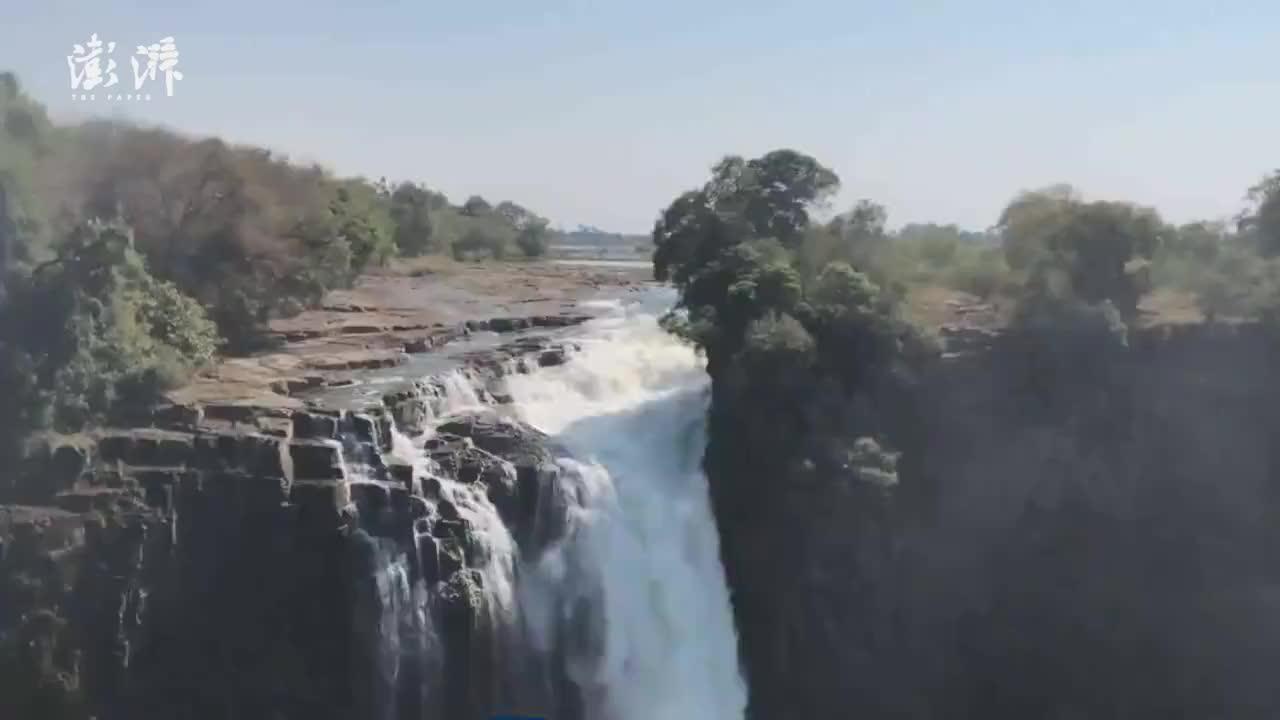 瞰见|非洲维多利亚瀑布