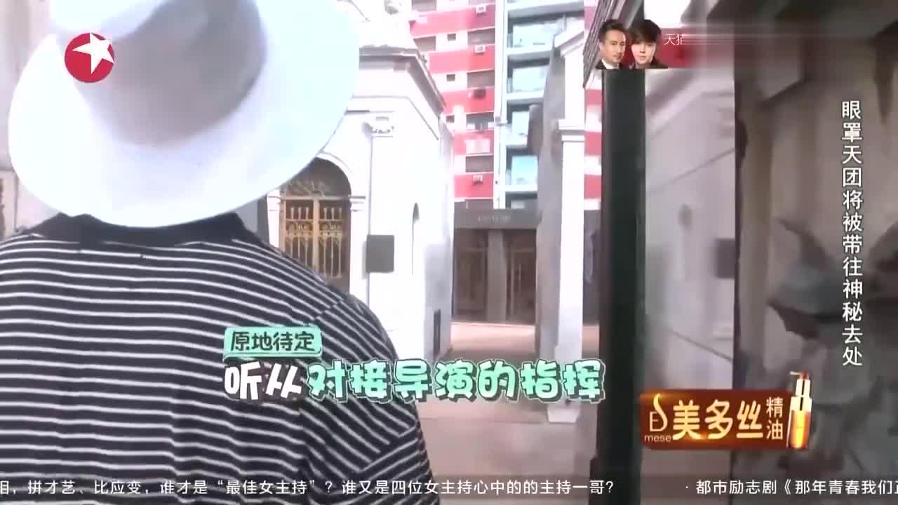 花样姐姐:花样团造访天使之城公墓,网友:好安详!
