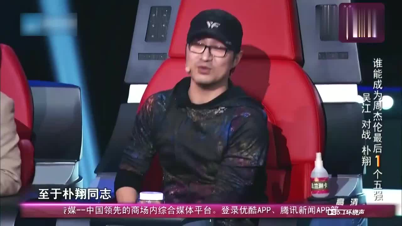 中国新歌声,汪峰还是觊觎周杰伦的学员,朴翔的歌很有灵魂