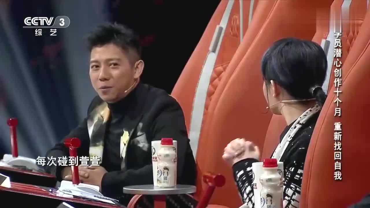 中国好歌曲:争抢学员战火升级,导师海泉放大招,却给萱萱打气了