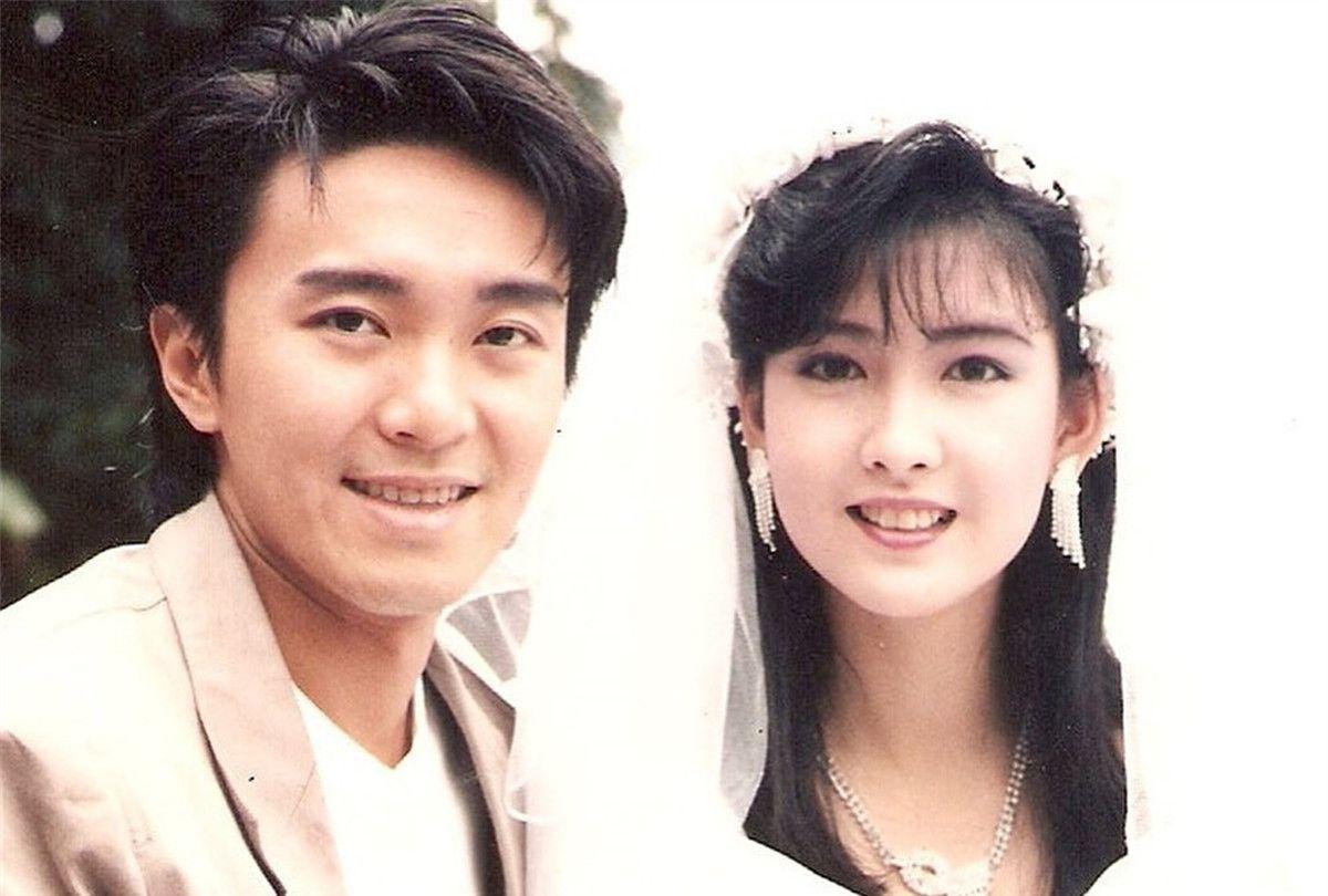 清纯女神周慧敏与香港明星旧照,你能认出几个人?