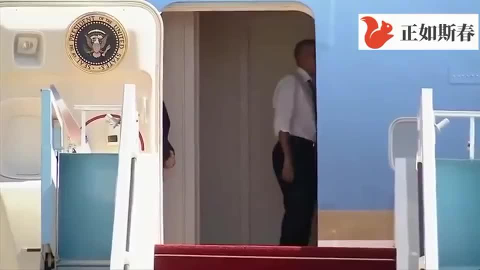 换成别人没这个待遇,奥巴马亲自请前总统克林顿再次登上空军一号