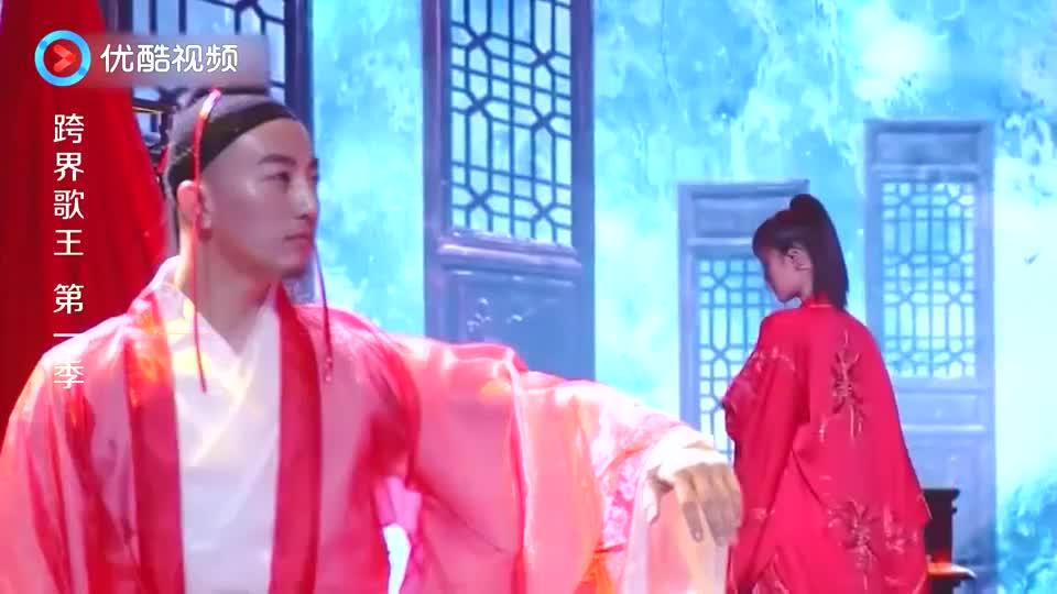 安悦溪造型太美,热舞演绎一首《红尘客栈》,舞美歌好听