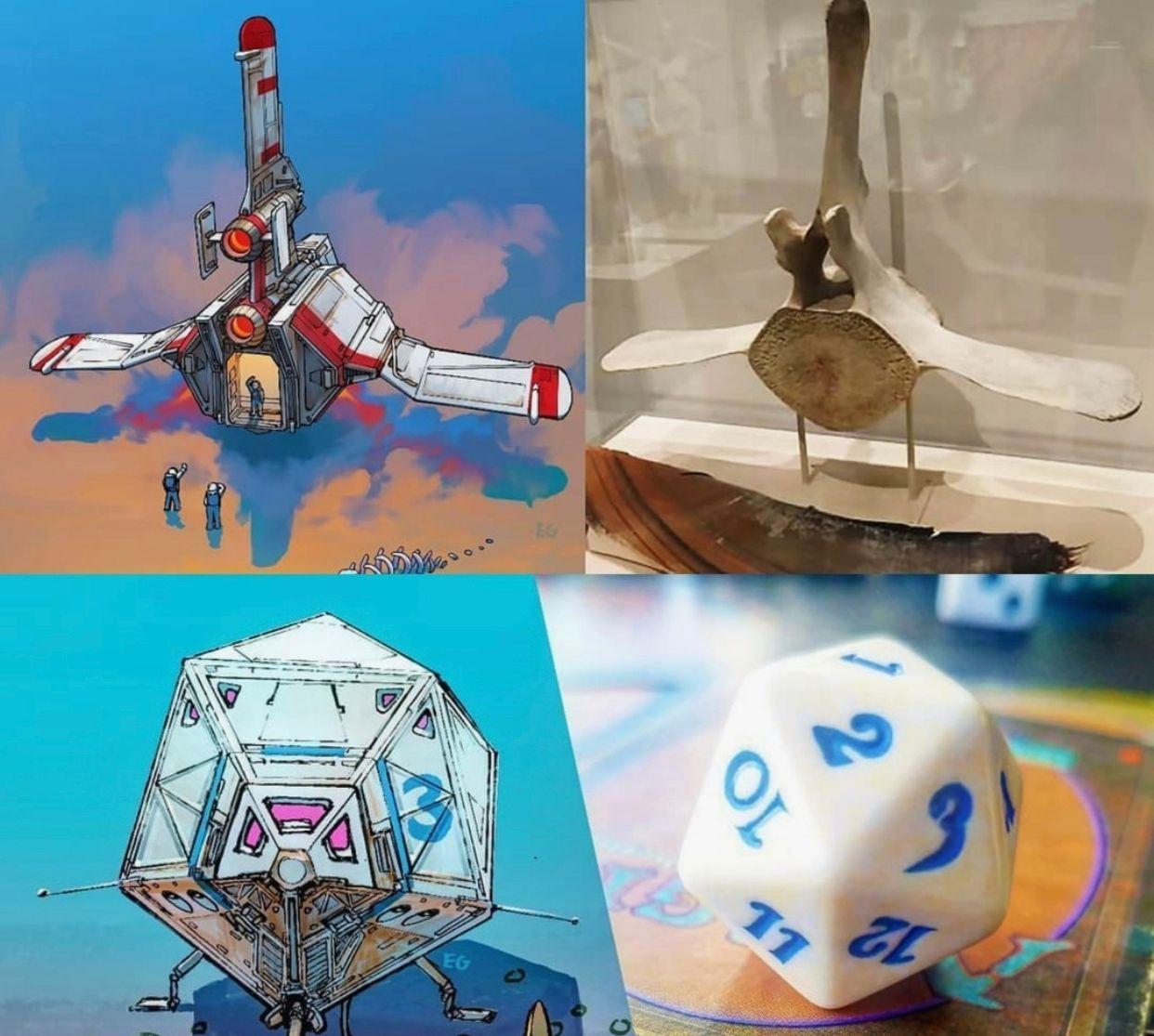 电影中那些超酷的飞船,原型都是这么来的吗?