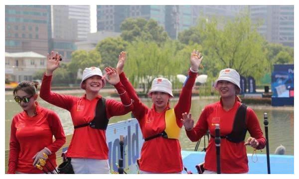 中国射箭队一颜值爆表的00后,连续3次闯进体育新闻,或睥睨世界