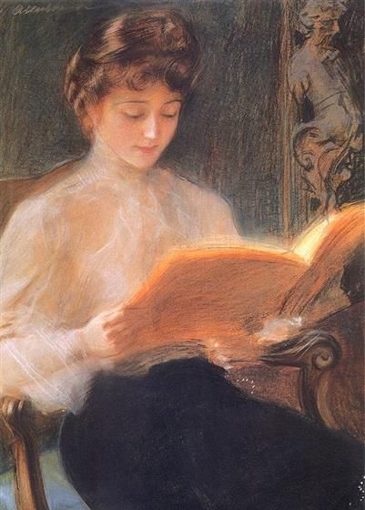 艺术家特奥多尔·阿肯多维奇人物画欣赏