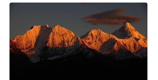 """中国""""最美名山""""贡嘎山,被称为""""蜀山之王"""",攀登难度高于珠峰"""