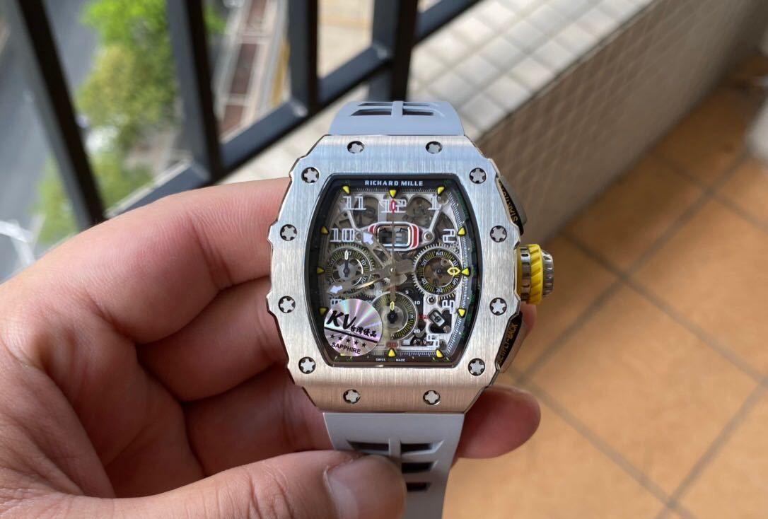 KV理查德米尔RM11-03RG系列运动腕表,运动与新潮的气息