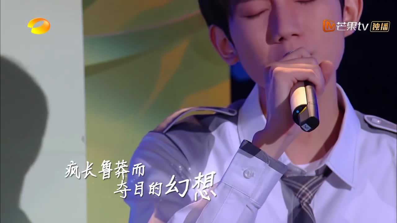 快本:王源留学归来,现场开唱《圆舞曲》,简直人帅声甜!