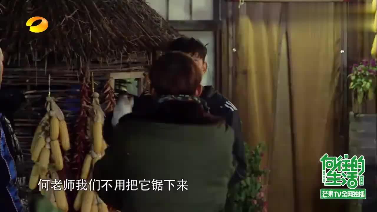 黄磊何炅意见出现分歧引争吵,黄磊学生帮忙劝和,让两人喝一杯!