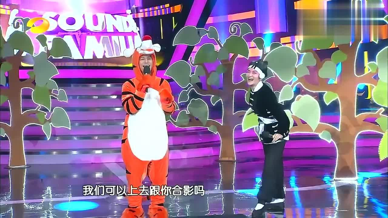 韩磊老师走在吃瓜前线,曝邓紫棋男友是林宥嘉,谢娜何炅一脸好奇