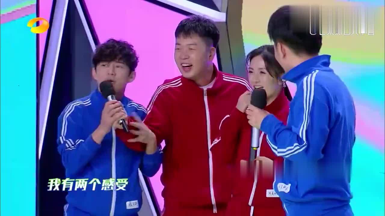 杜海涛参加玩游戏,李明德反应太逗:我们不是一个吨位的!