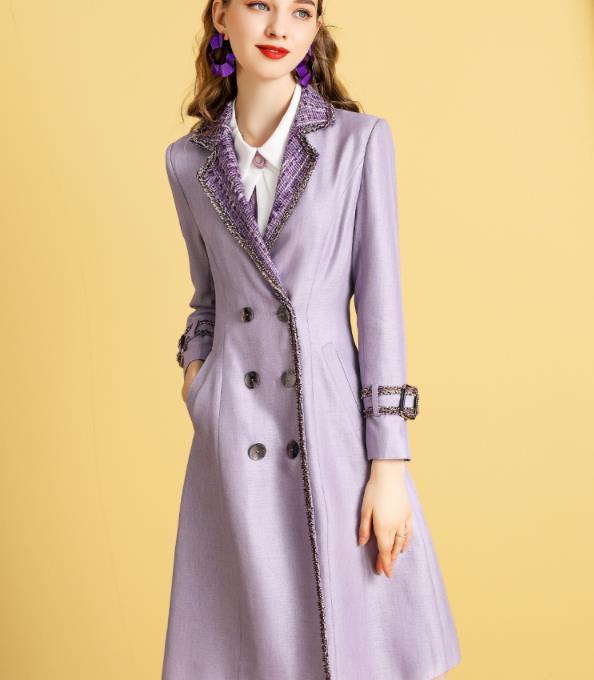 几款百搭经典时尚的风衣外套,收腰显瘦,照着穿气质迷人又显高