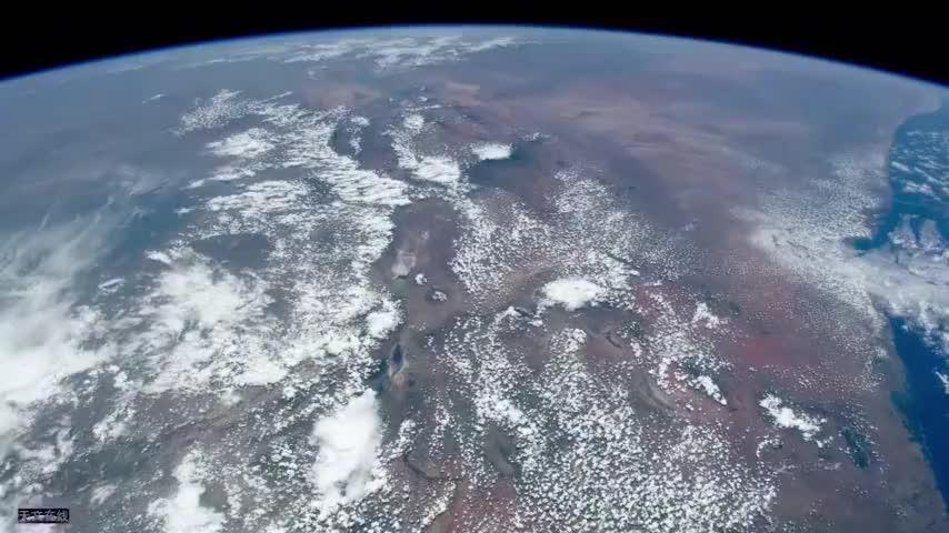 相当震撼!从太空看中东地区,别有一番趣味