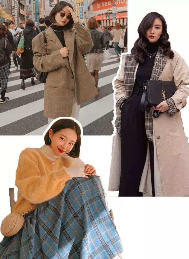 毛衣+小高领搭配,时髦又洋气!