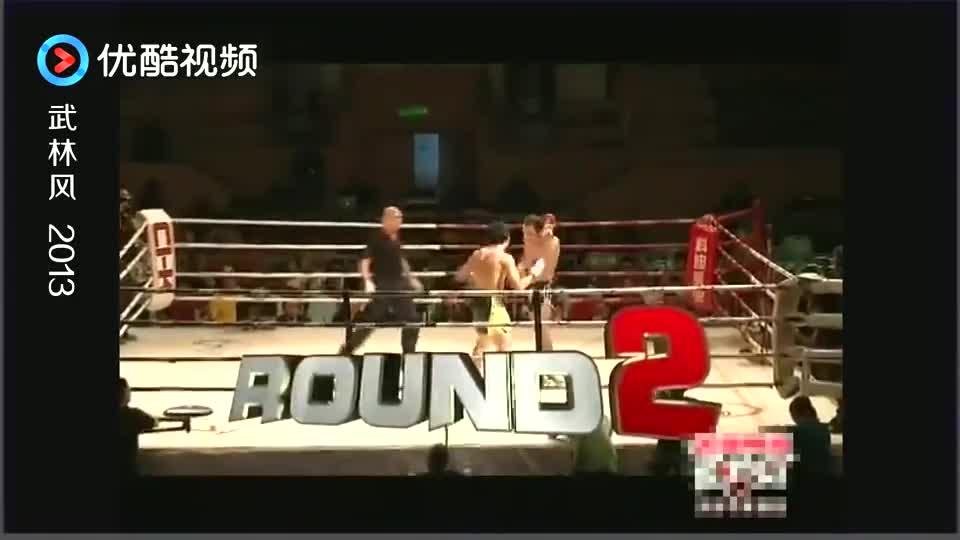 两位选手分别KO中国勇士,进入总决赛!