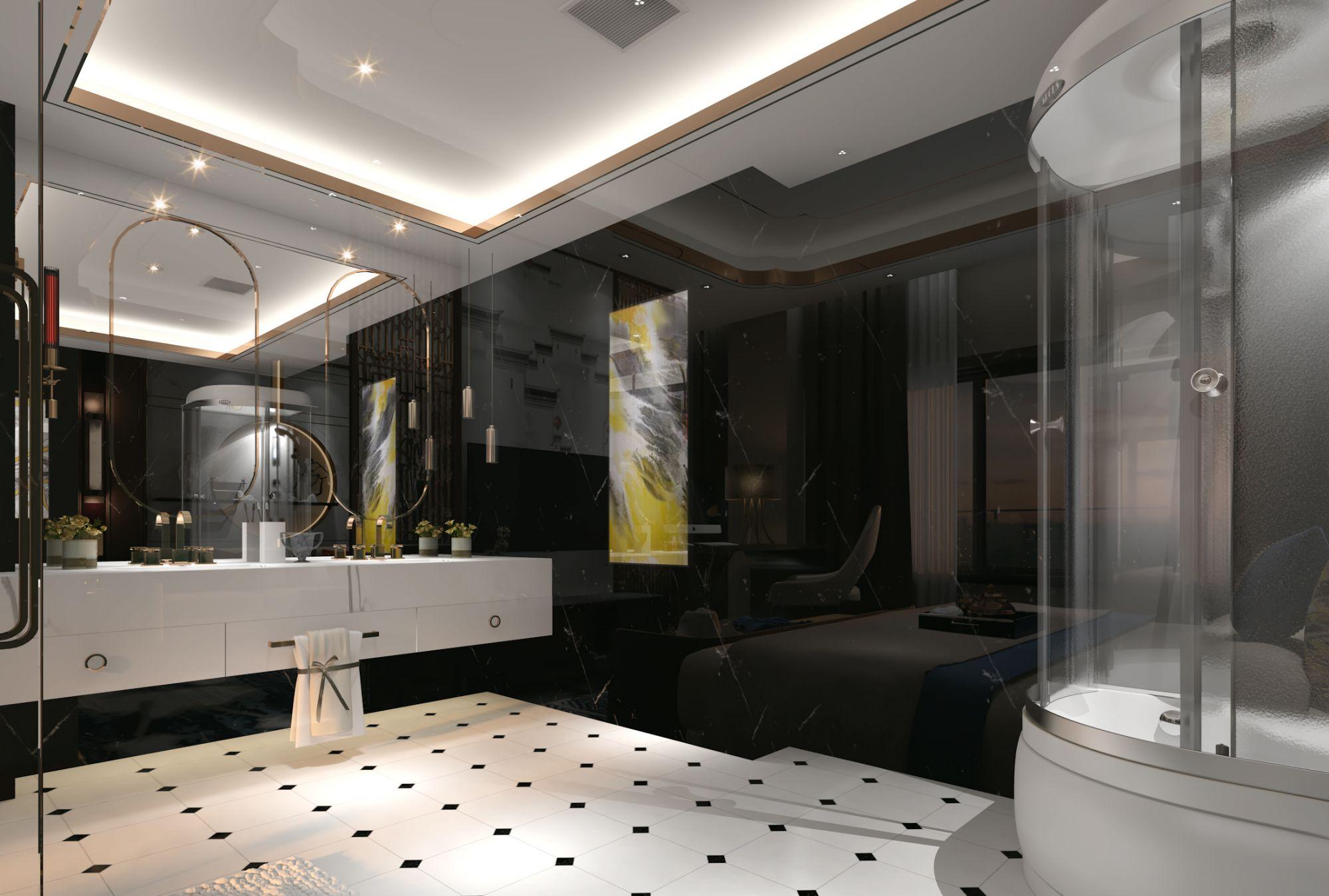 乌鲁木齐最炫的室内设计,百度搜索(何立新设计师)里面更多案例