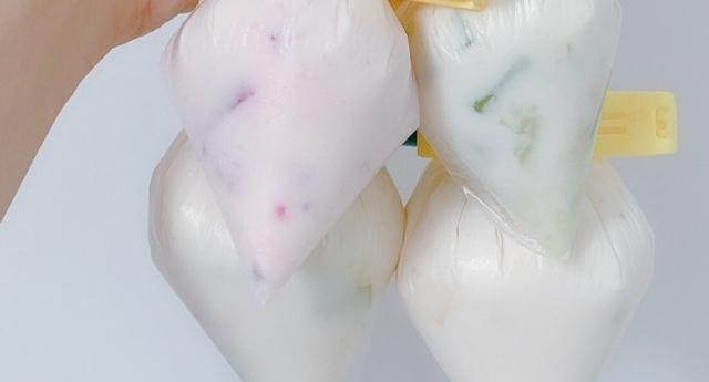 自制酸奶冰粽,腌制一点都不亚于星巴克冰粽哦,超简单的