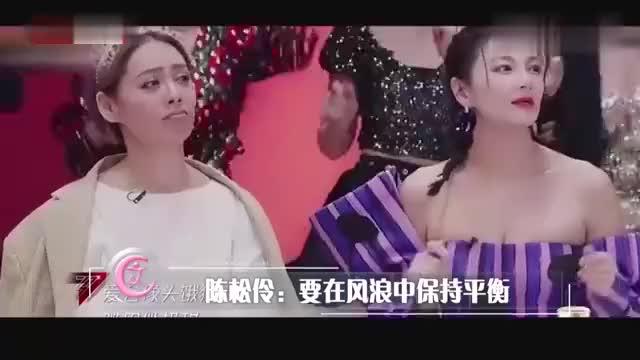 陈松伶以歌手身份出道,与男演员的合作,才是一代人的青葱记忆
