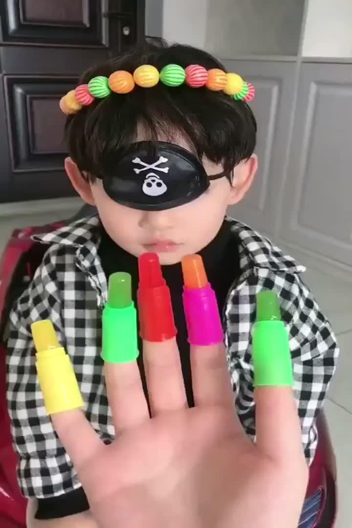 幸福童年手指糖好吃不