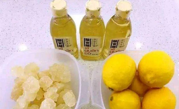 美食推荐:柠檬果醋的做法