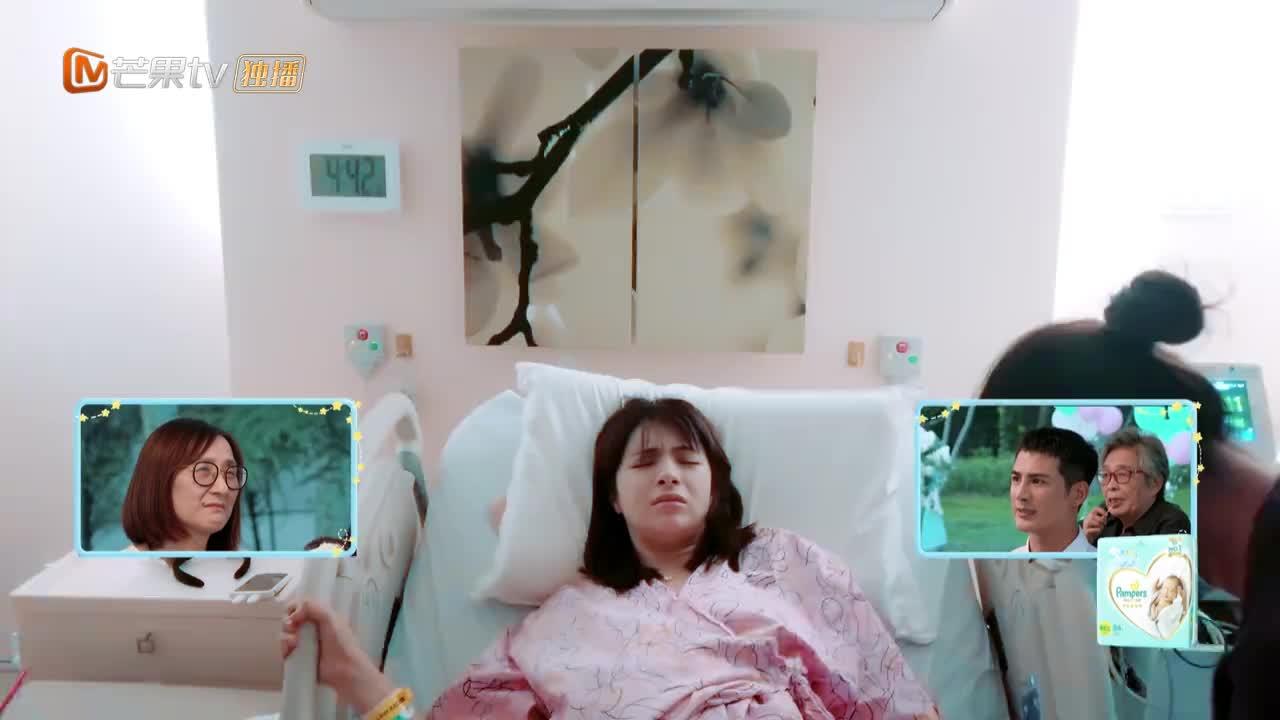 麦迪娜突然生产,姜潮慌到不行,医生:你家娃这是坐火箭来的!