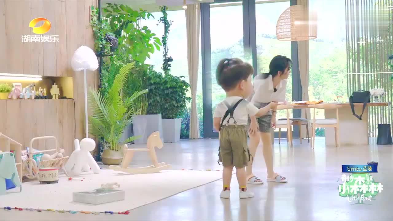 谭松韵为小宝构建童话世界,还和摄像机交朋友太萌了