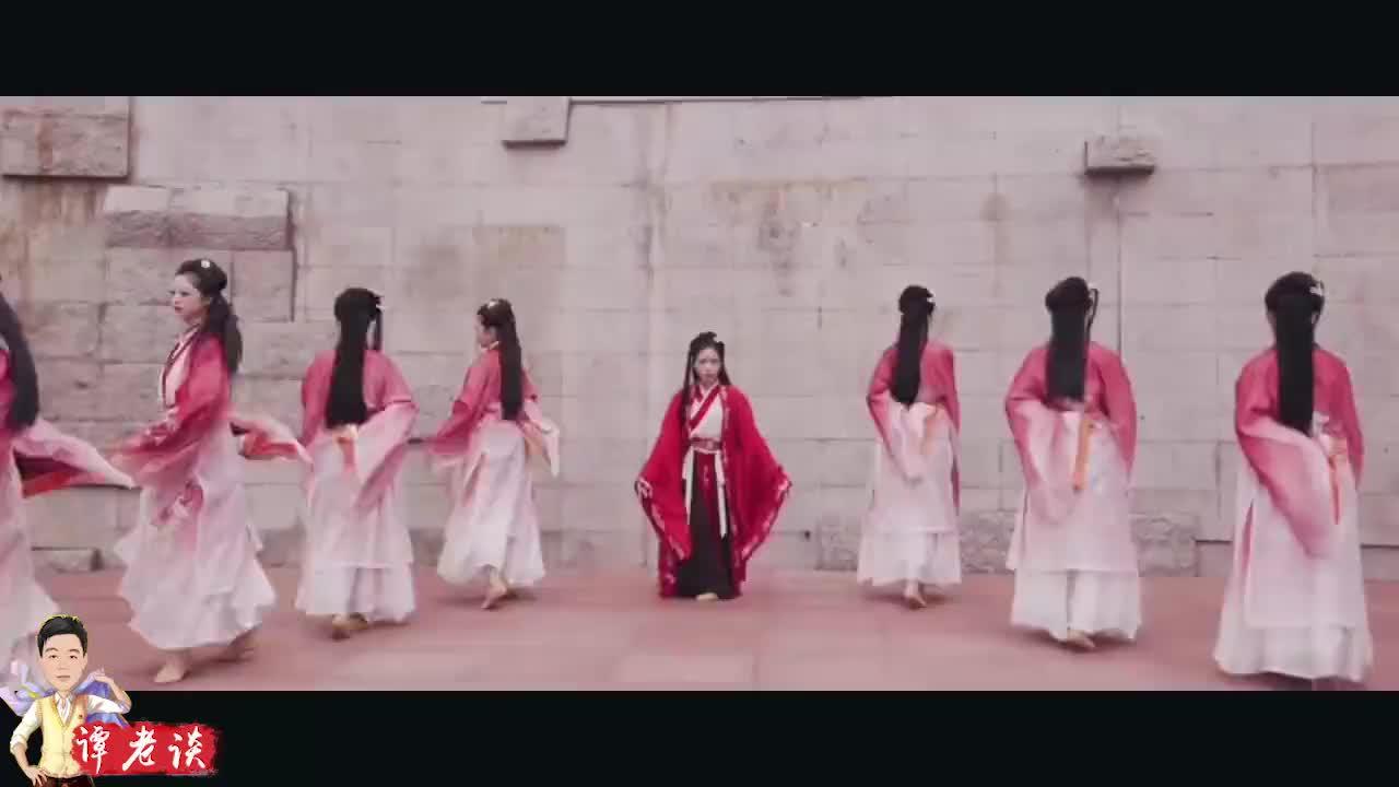 深圳朵舞古典舞《鹤焰》,音乐很好听,服化道为舞蹈加分不少!